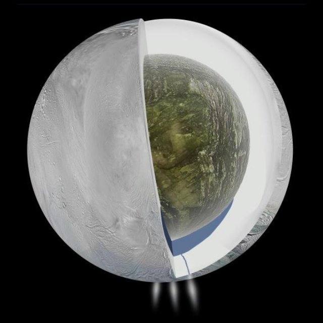 Saturn's moon Enceladus could be the next place to search for life
