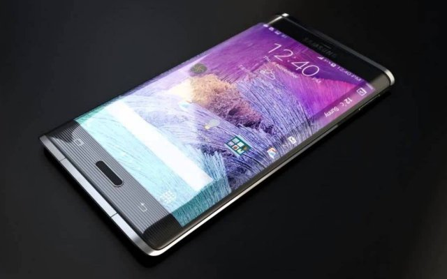 Samsung dual edge display