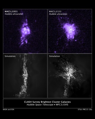NASA's Hubble finds evidence of galaxy star birth regulated by black-hole fountain