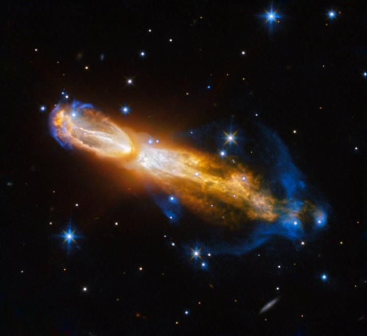 Hubble captures brilliant star death in 'rotten egg' nebula