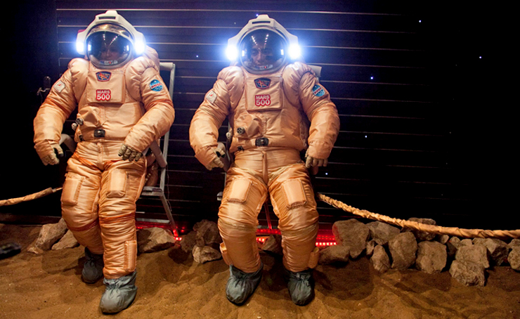 Spacesuits for mars simulation