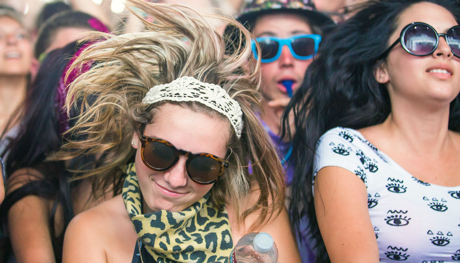 A bunch of new drugs show up in hair samples from festivals