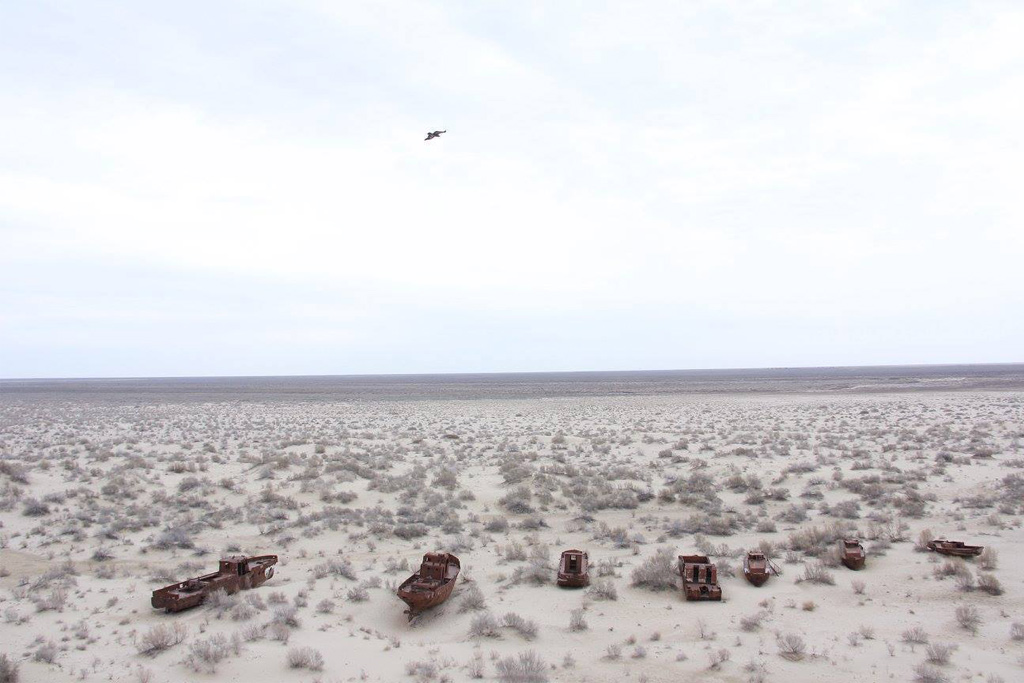 Catastrophe of Aral Sea shows 'men can destroy the planet'
