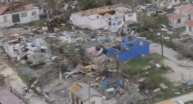 Hurricane Irma erased 'footprints of an entire civilization' on Barbuda, Prime Minister tells UN