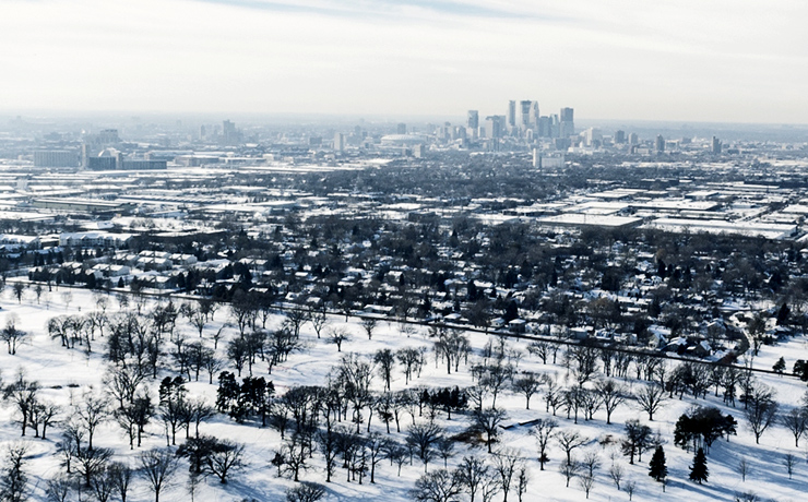 Minneapolis-St. Paul in winter