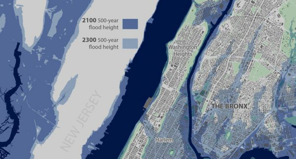 Sea levels could bring greater storm damage to NYC