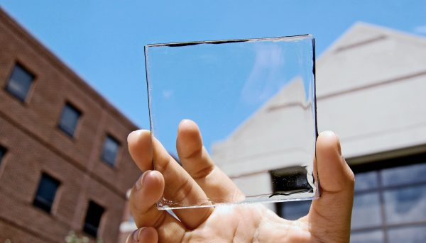 To generate more solar power, put this material on glass
