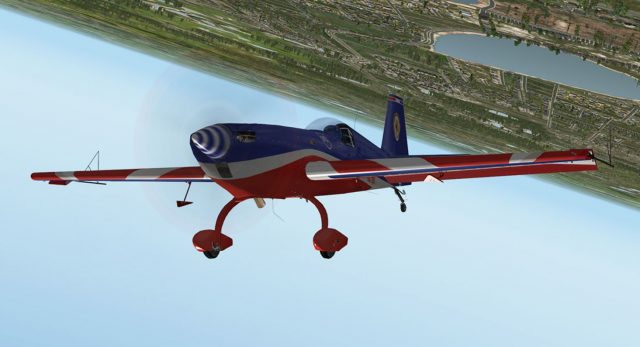 Are you ready for the aerobatic flight?