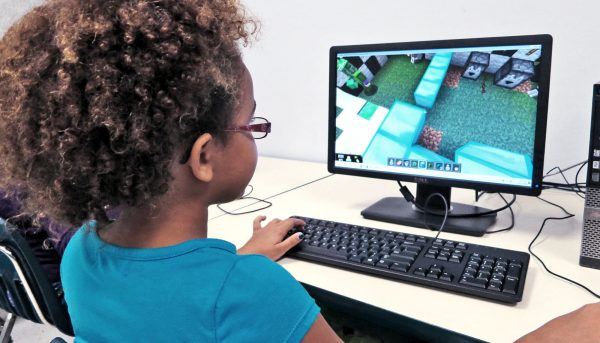 If play is good for kids, does Minecraft count?